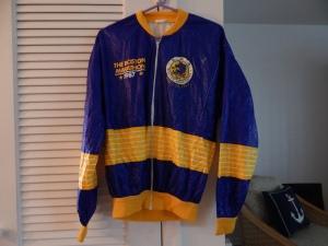 My Boston Marathon 1987 Paper Jacket