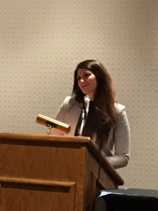 Agent Katie Shea Boutillier, literary agent at Donald Maass Literary Agency. Keynote Speaker